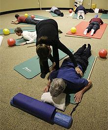 pilates per mal di schiena
